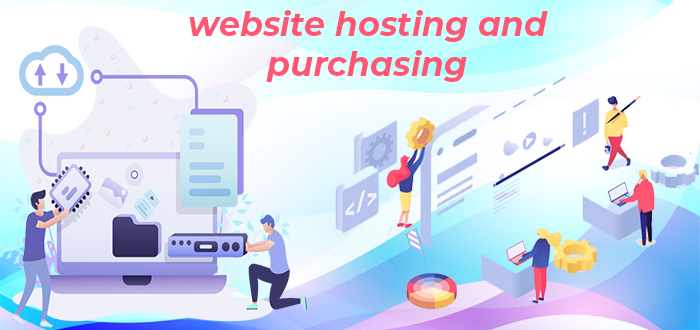 Web hosting and purchasing