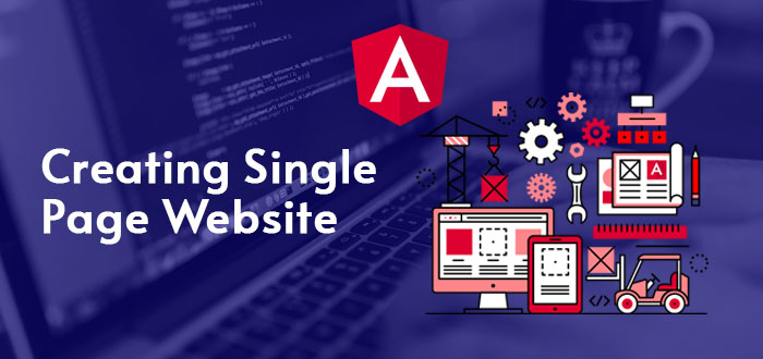 Creating Single Page Website