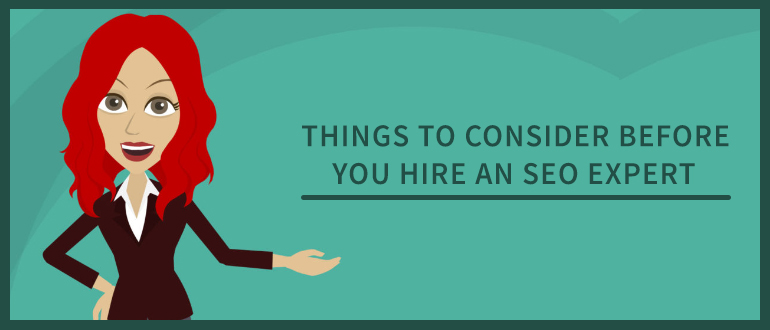 things to consider before hire a seo expert